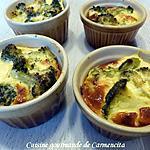 recette Petit flan de brocoli au parmesan
