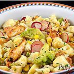 recette Salade de Choux-fleurs et poulet