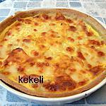recette Quiche aux lardons et mozzarella