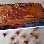 recette Cake marbré au Nutella et aux noisettes