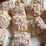 recette Rillette au fromage de chèvre et aux 2 jambons