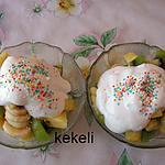 recette Salade de fruits à la crème chantilly