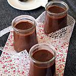 recette Crème au chocolat au lait de souchet, Bio, sans gluten, sans lait, sans oeufs