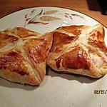 recette feuilleté au jambon