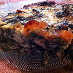 recette Clafoutis épinards et saumon fumé
