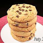 recette Cookies au Beurre de Cacahuète et Chocolat