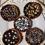 recette TARTELETTES CHOCOLAT