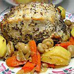 recette côtes de porc façon rôti