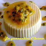 recette Bavarois à la patate douce, orange et fruit de la passion ou maracuja