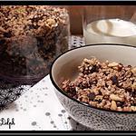 recette Granola à la Noix de Coco