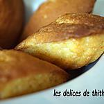 recette madeleines au miel et fleur d'oranger (au i'cook'in)