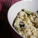 recette risotto aux courgettes