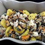 recette Salade de Crevettes, Moules et St-Jacques à l'Italienne