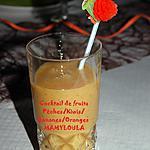 recette Cocktail pêches/kiwis/bananes/oranges
