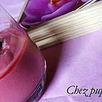 recette Crème de framboise