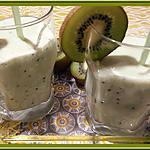 recette Lait frappé aux Kiwis