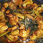 recette Porc sauté au choy-sum