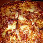 recette Pizza au salami et jambon
