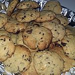 recette Cookies au beurre de cacahuètes graines de lin pépites de chocolat