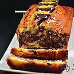 recette Cake Marbré ChocOrange