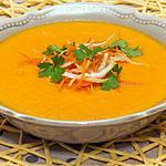 recette Soupe carottes orange