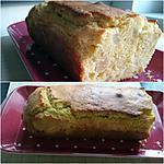 recette Cake au citron et poire