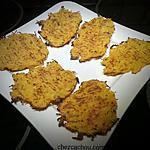 recette Galettes de pomme de terre et courge butternut
