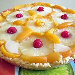 recette TARTE BRIOCHEE AUX FRUITS