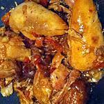 recette Cari poulet fumé (compatible Dukan)