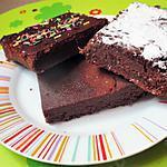 recette BONNE FETE AUX MAMIES ! Fondant au chocolat & au lait concentré sucré