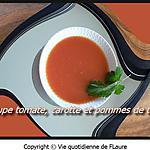 recette Potage aux carottes, tomates et pommes de terre