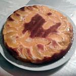 recette Gâteau aux pêches et à l'amande