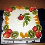 recette Gâteau aux fruits !