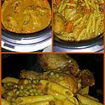 recette Pilons de poulet à la pâte de curry & lait de coco au COOKEO