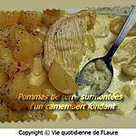 recette Pommes de terre surmontées d'un camembert fondant