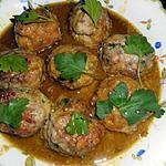 recette Boulettes de porc au curry