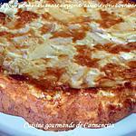 recette Gâteau pommes et mascarpone au citron vert combava ou combawa