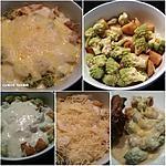 recette Gratin de chou Romanesco