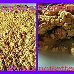 recette Crumble aux pommes et noisettes