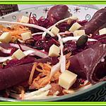 recette Salade de Carotte et betterave crue