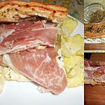 recette SANDWICH AU BROCCIU ET PARMA
