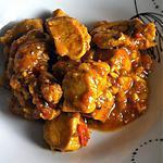 recette Poulet façon tarkari (compatible dukan)