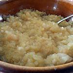 recette compotée pommes poires vanille