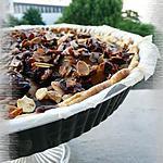 recette Tarte aux poires & au chocolat