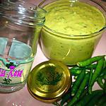 recette SATINI à la MOUTARDE au Basilic & PETITS PIMENTS VERTS