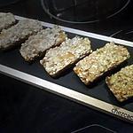 recette Gâteaux aux flocons d'avoine et compotée d'abricots