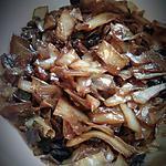 recette Kapusta z grzybami ou chou mijoté à la polonaise