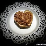 recette Pieczone jabłko Pomme au four