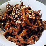 "recette Bulgogi ""boeuf coréen"" (compatible dukan)"