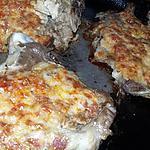 recette Côtes de porc gratinés au chorizo et fromage a raclette